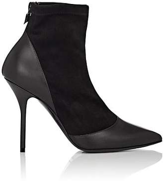 Pierre Hardy Women's Dolly Suede & Leather Ankle Boots - Black