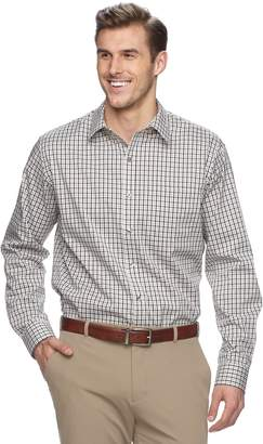Van Heusen Big & Tall Traveler Stretch Classic-Fit No-Iron Button-Down Shirt