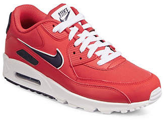 Nike 90 Lace-Up Leather Sneakers