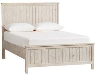 Pottery Barn Beadboard Basic Bed Full Weathered White