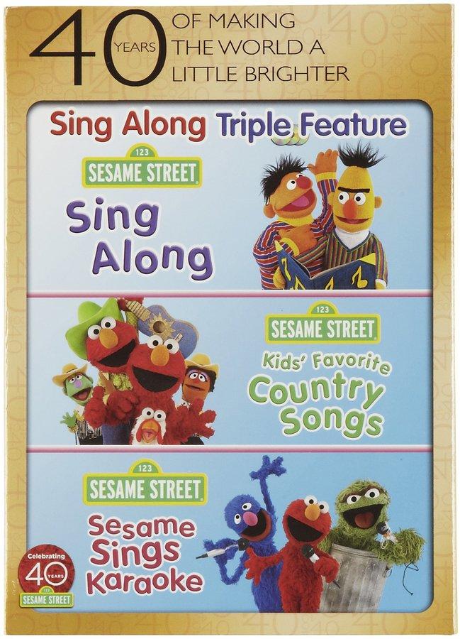 Sesame Street Sing Along Fun Pack - 3 Disc Set DVD