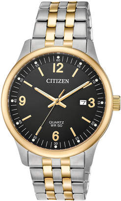 Citizen Men's Quartz Two-Tone Stainless Steel Bracelet Watch