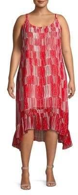 Nic+Zoe Plus Zamba Printed Sleeveless Dress