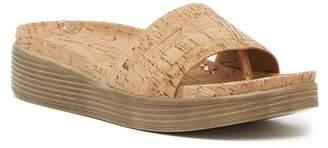 Donald J Pliner Fiji Low Wedge Slide Sandal