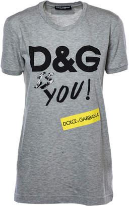 Dolce & Gabbana (ドルチェ & ガッバーナ) - Dolce & Gabbana Logo T-shirt