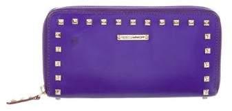 Rebecca Minkoff Studded Zip-Around Wallet - PURPLE - STYLE