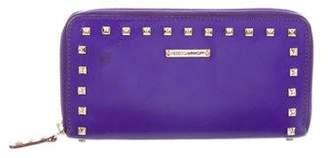 Rebecca Minkoff Studded Zip-Around Wallet