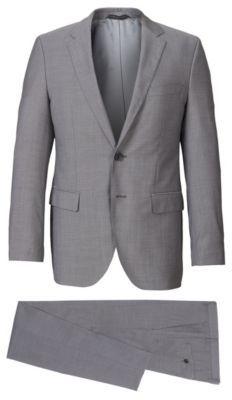 Hugo Boss James/Sharp Regular Fit, Italian Wool Suit 38S Grey