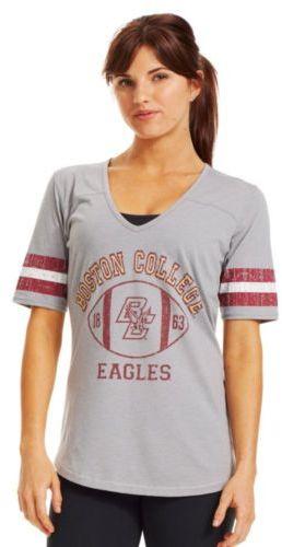 Under Armour Women's Legacy Boston College Stripe T-shirt