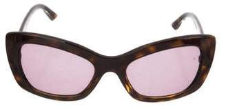 Prada Cat-Eye Tinted Sunglasses
