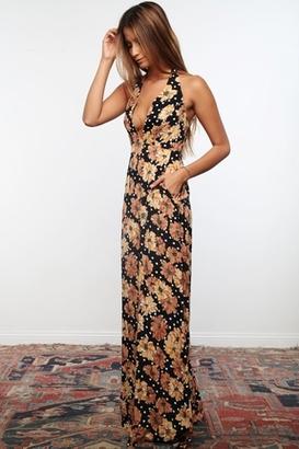 Flynn Skye Chloe Maxi Dress in Tiger Paws $176 thestylecure.com