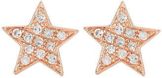Rosegold The Alkemistry Julianna Himiko 14ct rose-gold and diamond earrings