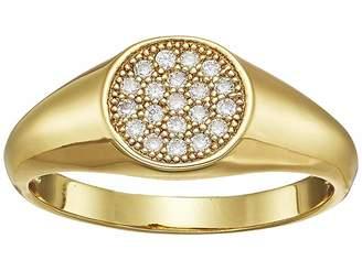 Shashi Pave Signet Ring