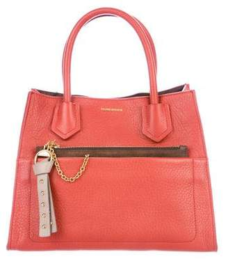 Sonia Rykiel Small Grained Leather Tote