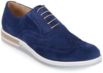 Bugatchi Suede Brogue Shoes