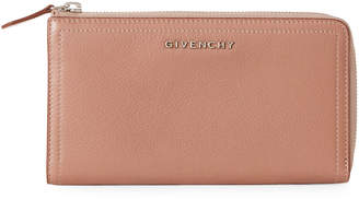 Givenchy Beige Leather Zip Wallet