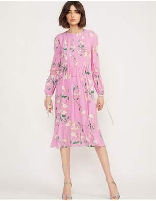 Cynthia Rowley Kyoto Pintuck Dress
