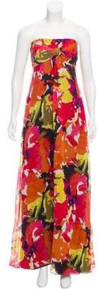 Trina Turk Silk Maxi Dress