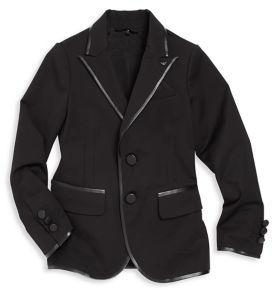 Armani JuniorArmani Junior Little Boy's & Boy's Piped Two-Button Blazer