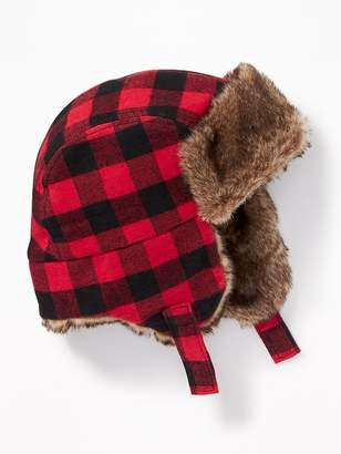 Old Navy Faux-Fur-Lined Trapper Hat for Baby