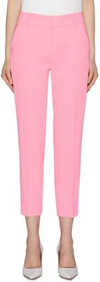 Alice + Olivia 'Stacey' slim fit cropped pants