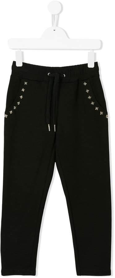 John Richmond Kids star studded track pants