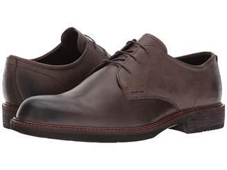 Ecco Kenton Plain Toe Tie Men's Plain Toe Shoes