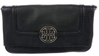Tory Burch Grained Leather Clutch
