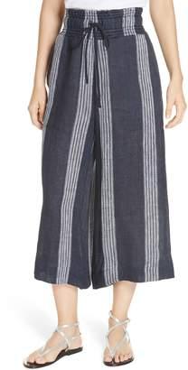 Sea Lyndee Stripe Cotton Crop Pants