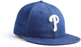 Todd Snyder + New Era + NEW ERA MLB PHILADELPHIA PHILLIES CAP IN CONE DENIM