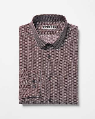 Express Extra Slim Floral Button-Down Shirt