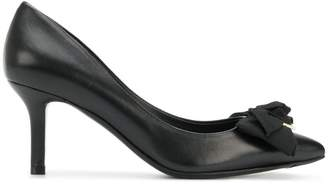 Salvatore Ferragamo pointed bow pumps
