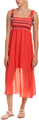 Red Carter Pippi Maxi Dress