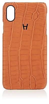 Hadoro Alligator iPhone® X Hard Case - Lt. brown