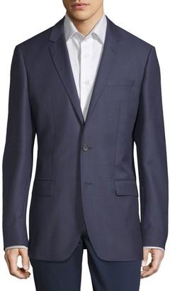 HUGO BOSS Notch Lapel Wool Jacket