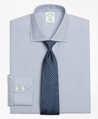 Brooks Brothers Milano Slim-Fit Dress Shirt, Non-Iron Mini-Stripe