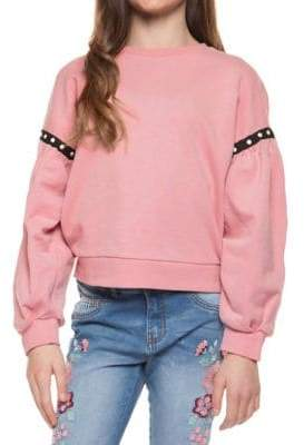 Dex Girl's Beaded Long-Sleeve Sweater