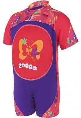 Zoggs Mermaid Flower Swimfree Infant Girls Swimming Swimsuit Floatsuit Pink 2/3