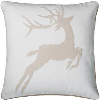 """Rizzy Home 20"""" x 20"""" Animal Print Poly Filled Pillow"""