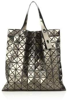 494dd2f8001 at Saks Fifth Avenue · Bao Bao Issey Miyake Platinum Metallic Faux Leather  Tote