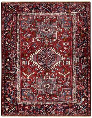 Unique Loom Gharajeh Hand-Knotted Wool Persian Rug