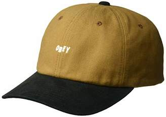 Obey Men's 90'S Jumble 6 Panel Snapback HAT
