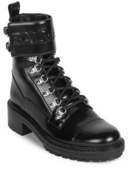 Balmain Ranger Cartel Leather Boots