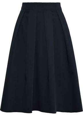 Elie Tahari Pleated Woven Skirt