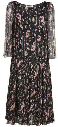 Blumarine Floral Dress