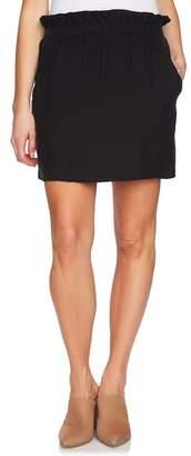 1 STATE 1.STATE Paperbag Miniskirt