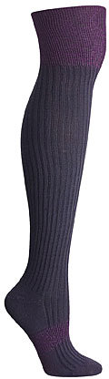 Over The Knee Color Block Sock