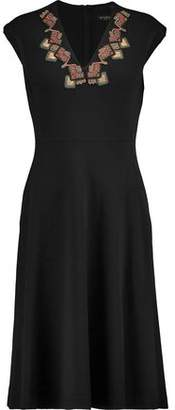 Etro Embellished Wool-Blend Dress