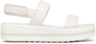 MICHAEL Michael Kors Peggy Patent-leather Platform Sandals
