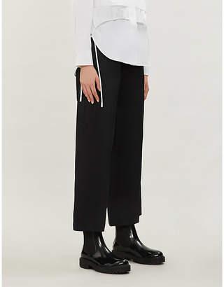 Joseph Dahlman mid-rise drawstring cotton trousers